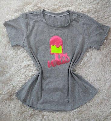 T-Shirt Feminina Para Revenda Verão