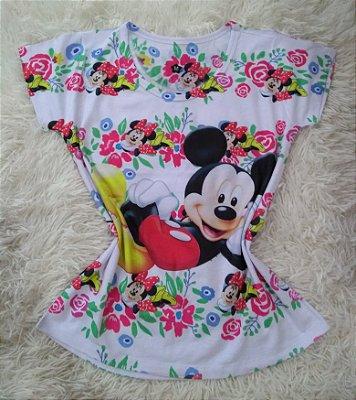 Tee Feminina Para Revenda Mickey Grande