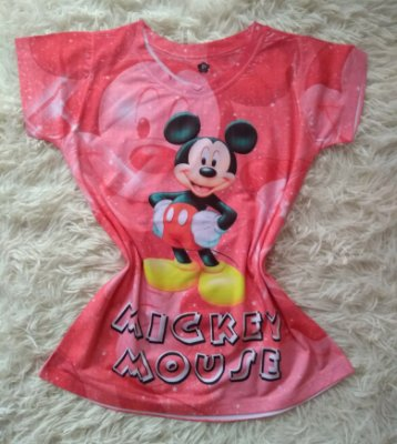 Blusinha Feminina no Atacado Mickey