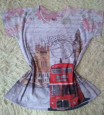 TShirt Feminina no Atacado Londres
