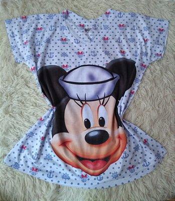 Blusa Feminina no Atacado Mickey Rosto Grande