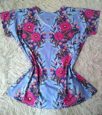 T Shirt Feminina Para Revenda Flores