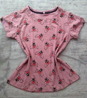 T Shirt Feminina Para Revenda Frajola
