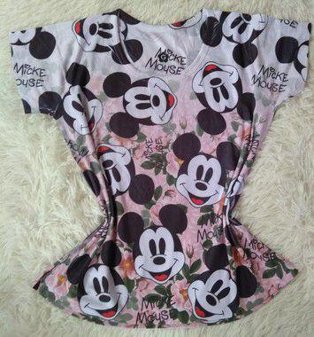Tee Feminina no Atacado Mickey Mouse