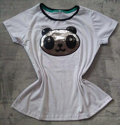T shirt Feminina no Atacado Panda
