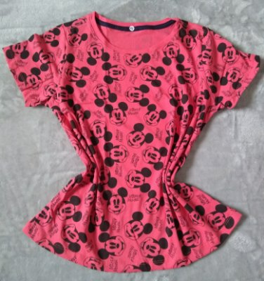 T Shirt Feminina no Atacado Mickey Mouse