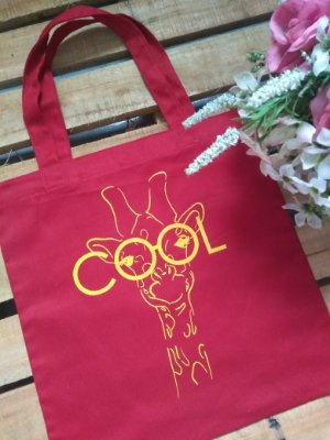 Ecobag No Atacado Cool Girafa