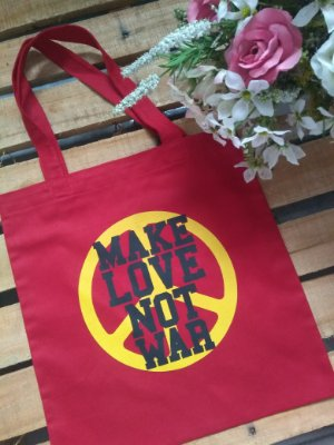 Ecobag no Atacado Make Love Not War