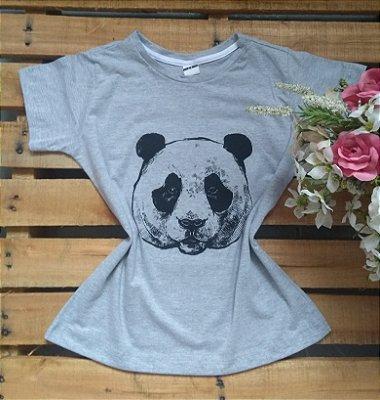 Tee Feminina Para Revenda Panda