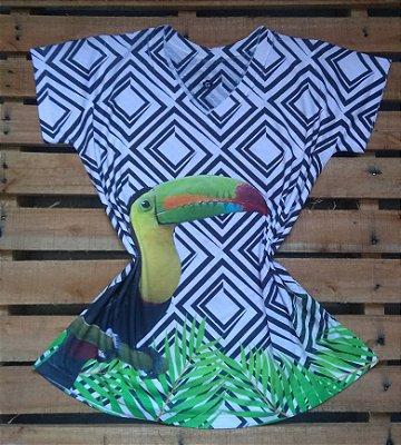 T-Shirt Feminina Para Revenda Tucano Grande