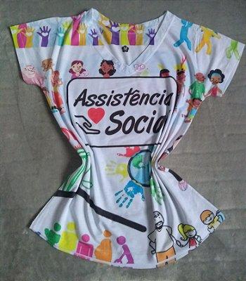 Blusinha Profissão No Atacado Assistência Social