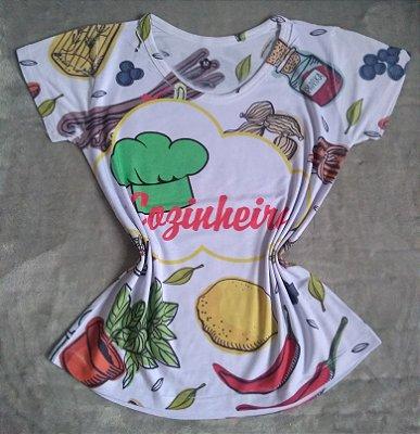 T Shirt Profissão No Atacado Cozinheira