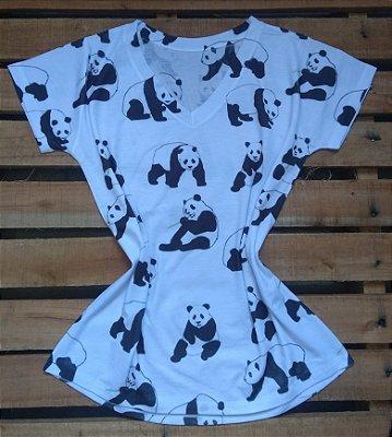 Tee Feminina No Atacado Pandas