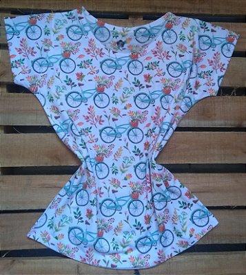 Blusa Feminina no Atacado Bikes e Flores