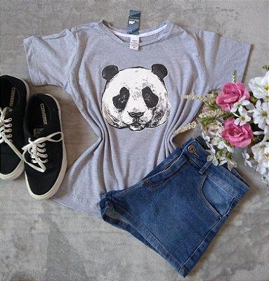 Blusa Feminina no Atacado Panda Rosto