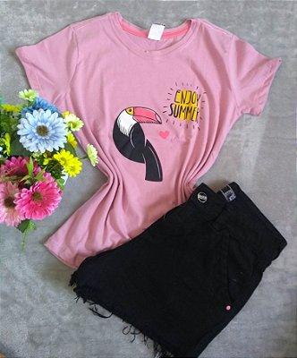 T-Shirt Feminina No Atacado Tucano Enjoy Summer