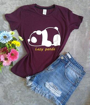 TShirt Feminina Para Revenda Lazy Panda