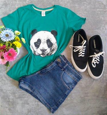 Blusinha Feminina Para Revenda Panda Rosto