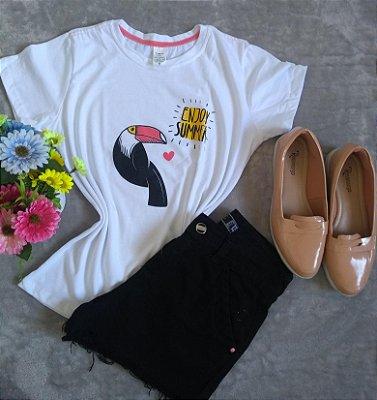 T Shirt Feminina No Atacado Tucano Enjoy Summer