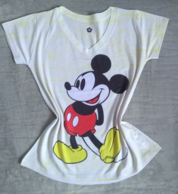 TShirt Feminina Para Revenda Mickey
