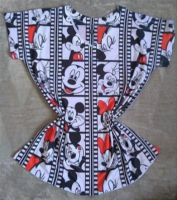 Blusa Feminina no Atacado Mickey Minnie Filme