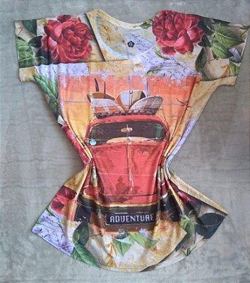 T-Shirt Feminina no Atacado Fusca