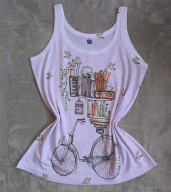 Regata Feminina Para Revenda Bike Livros