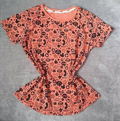 T Shirt Feminina Para Revenda Fundo Mickey