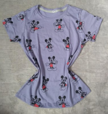 T-Shirt Feminina no Atacado Mickeys