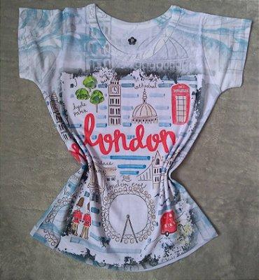 T-Shirt Feminina No Atacado Londres