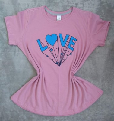 T Shirt Feminina no Atacado Love
