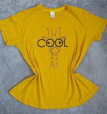 T-Shirt Feminina para Revenda Girafa Cool