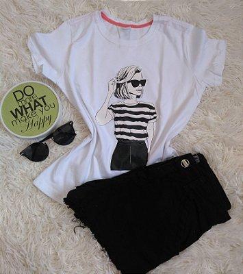 T-Shirt Feminina Para Revenda Woman