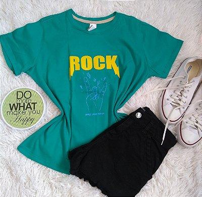 TShirt Feminina no Atacado Rock
