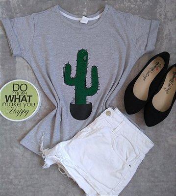T-Shirt Feminina No Atacado Cacto