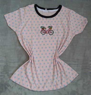 T-Shirt Feminina no Atacado Bike