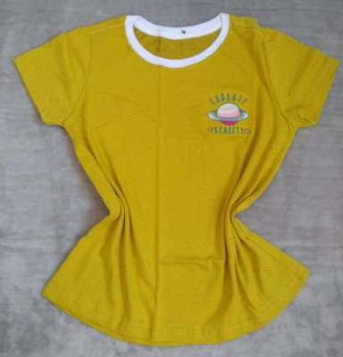 T Shirt Feminina no Atacado Planeta Goodbye Reality