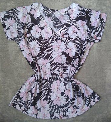 T Shirt Feminina Para Revenda Flores Claras