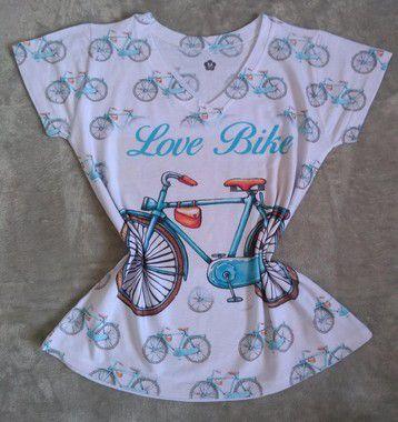 Blusa Feminina no Atacado Love Bike