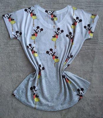 TShirt Feminina Para Revenda Mickeys Cordas