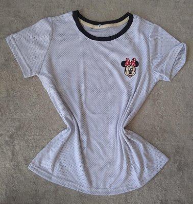T-Shirt feminina no Atacado Minnie Fundo Poá