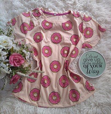 TShirt Feminina no Atacado Donuts