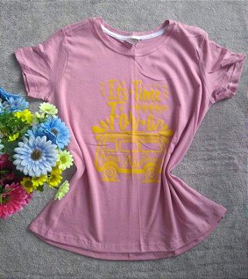 T Shirt Feminina No Atacado Kombi Adventure