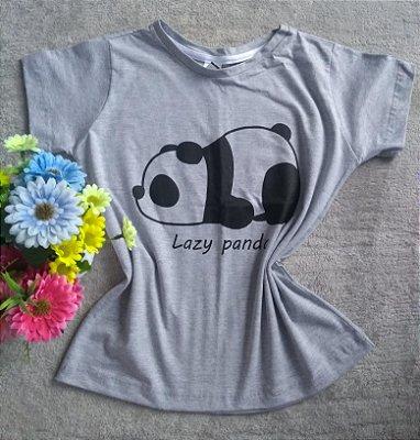 T Shirt Feminina No Atacado Lazy Panda