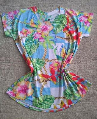 Blusa Feminina Para Revenda Flores e Plantas