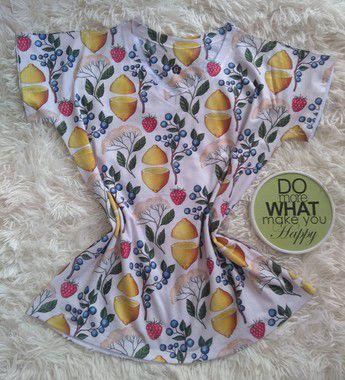 Blusa Feminina Para Revenda Frutas e Flores
