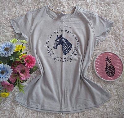 T Shirt Feminina no Atacado Zebra