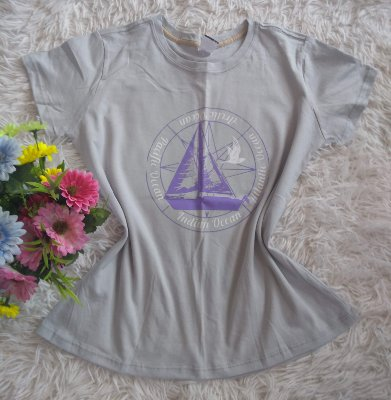 T-Shirt Feminina Para Revenda Barco
