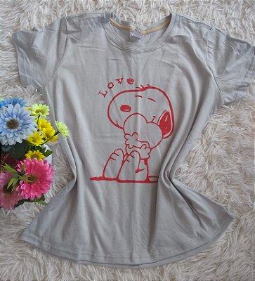 TShirt Feminina Para Revenda Snoopy