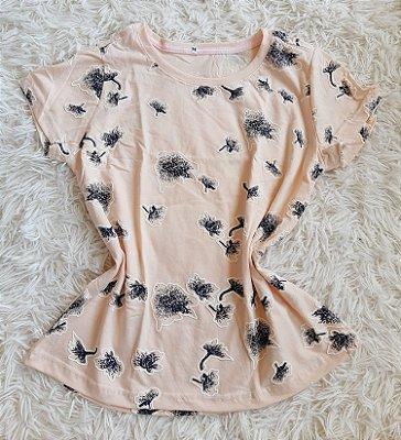 T shirt Feminina no Atacado Flores
